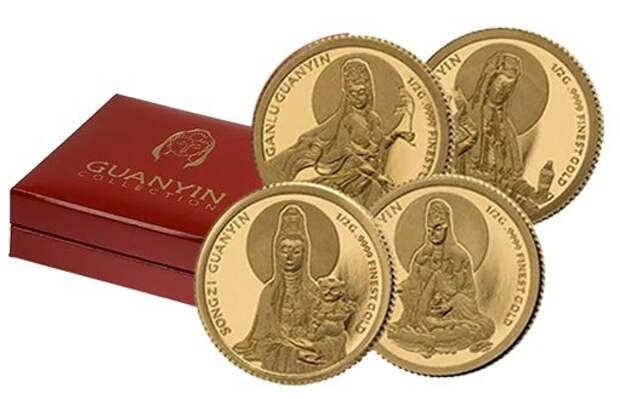 Золотые монеты Нигера «Гуаньинь» расскажут о мифическом божестве Азии