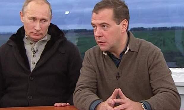 Путинская вертикаль – это дрянной премьер при славном президенте