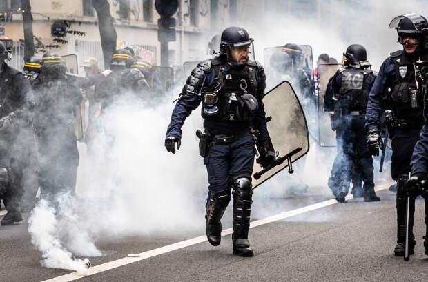 Антикоронавирусные протесты во Франции. 31.07.2021