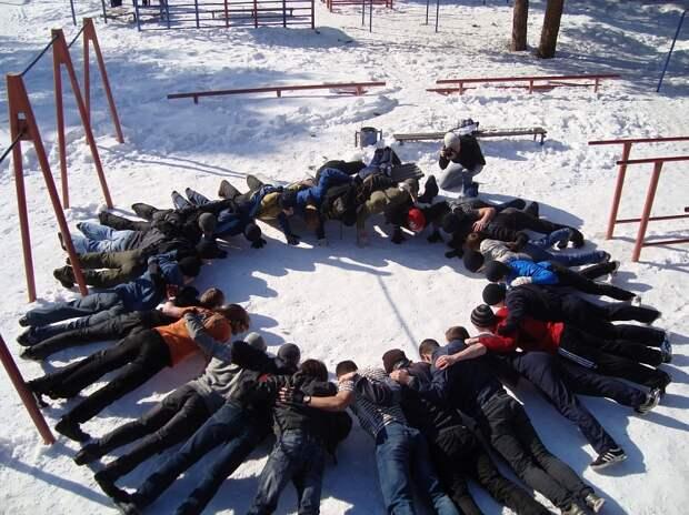 Воркаут тренировки зимой