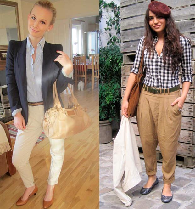 С чем носить брюки чиносы