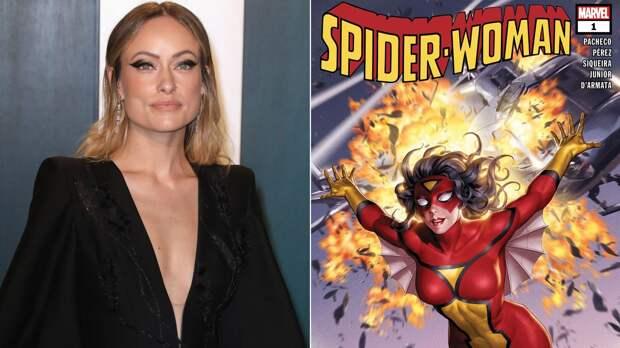 Оливия Уайлд расскажет про Женщину-паука