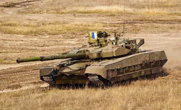 В США сравнили российский танк Т-14 «Армата» с украинским «Оплот»
