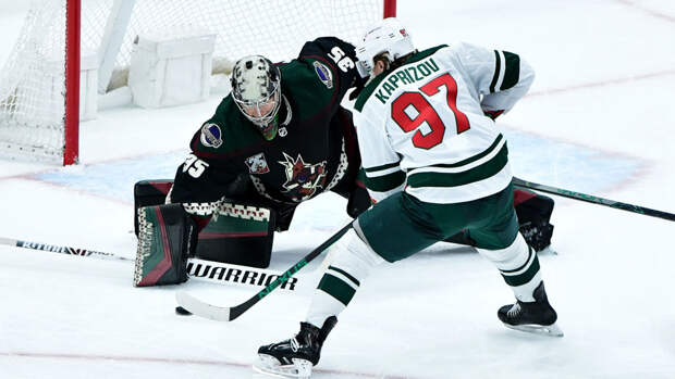 Капризов признан второй звездой недели в НХЛ