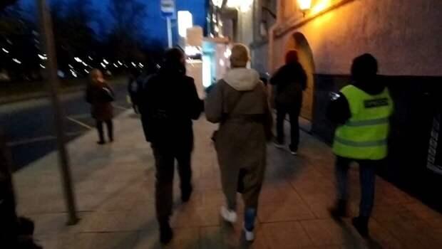 Незаконный митинг в Москве обошелся без массовых задержаний