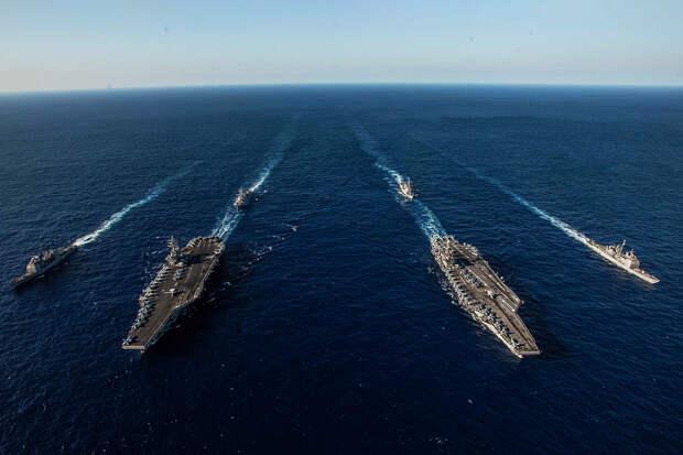 Авианосцы США в Южно-Китайском море не представляют опасности для КНР