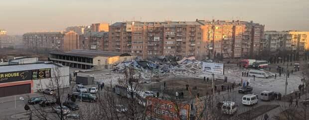 Во Владикавказе взорвался супермаркет