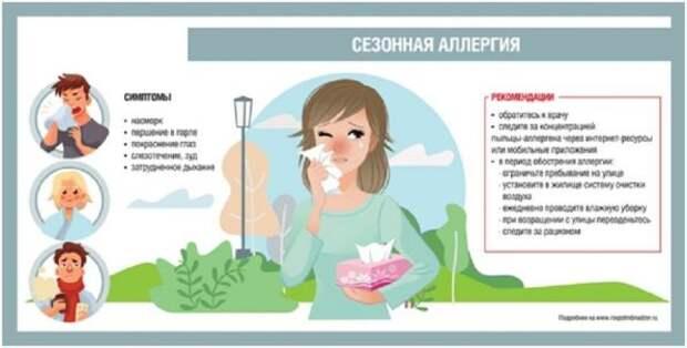 Горловчанам дали рекомендации, как бороться с поллинозом или сезонной аллергией