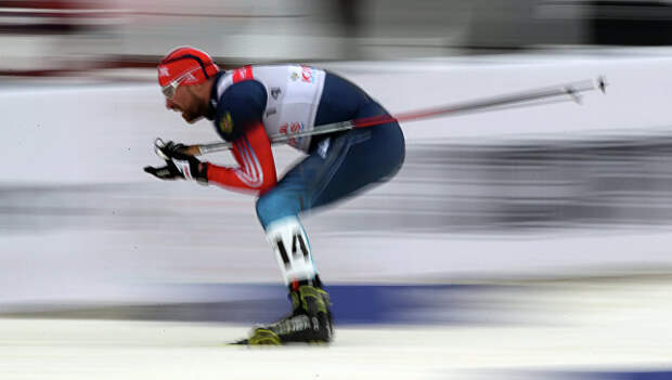 Лыжник Алексей Петухов (Россия). Архивное фото