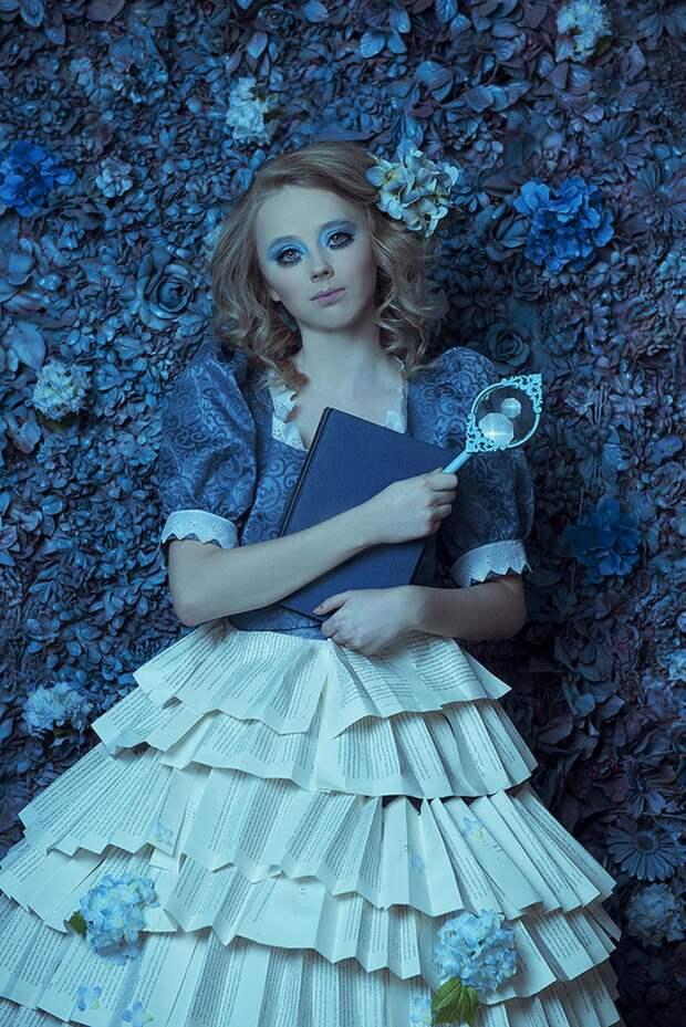 Фотопрект «Таинственный сад». Удивительные сюрреалистические портреты фотографа Даниэлы Мэджик