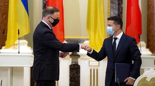 Визит Дуды к Зеленскому прошел в атмосфере русофобии