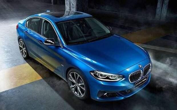 BMW готовит седан 1-й серии для европейского рынка