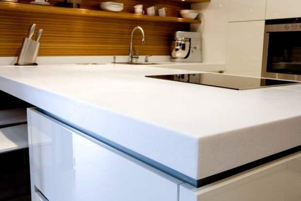 Лучший материал для кухонной столешницы