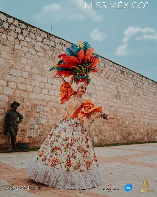 33 невероятные красотки внациональных нарядах сконкурса «Мисс Мексика»