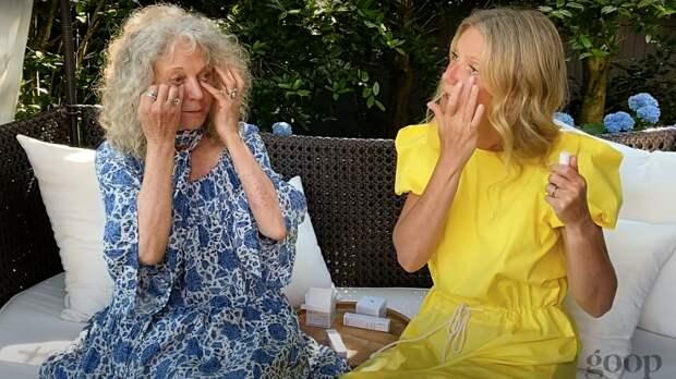 Три поколения: Гвинет Пэлтроу обсудила уход за собой с матерью Блайт и дочерью Эппл