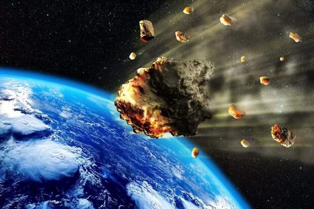 NASA моделирует столкновение Земли с астероидом