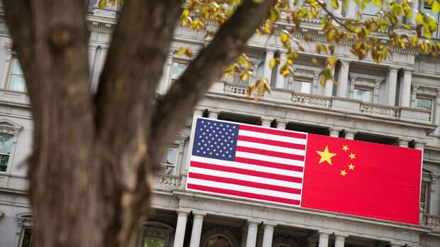 Флаги США и Китая - РИА Новости, 1920, 18.04.2021