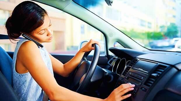 Мобильный телефон за рулем советы по безопасности