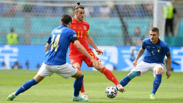 Сражение за лидерство в группе: Италия обыгрывает Уэльс в матче Евро-2020