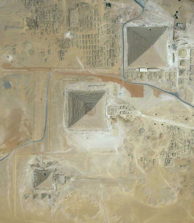 20. Каир, Египет фото со спутника, фотограф Бенджамин Грант, фотографии