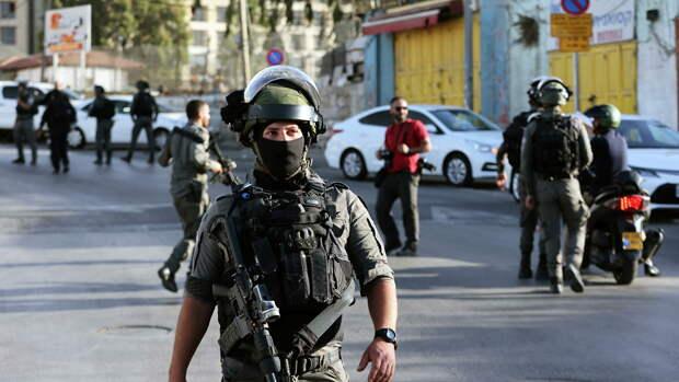 Израильская армия пресекла попытку наезда на военных