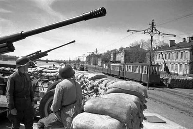 Эрмитаж в дни блокады