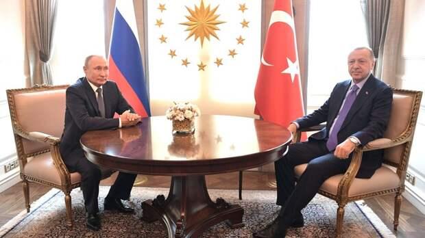 """Переговоры Путина и Эрдогана: Турция решила придерживаться """"украинского"""" курса?"""