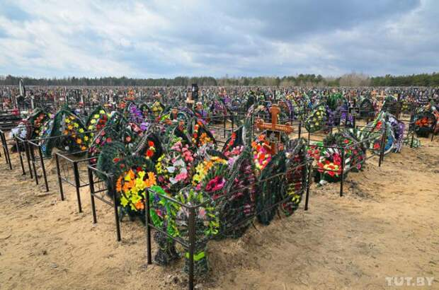 В Бобруйске семья похоронила мужчину - а через пару недель не нашла там могилы. Гроб кто-то перенес.
