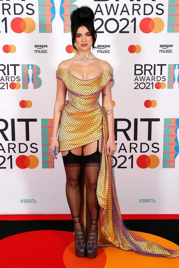 Дуа Липа BRIT Awards 2021