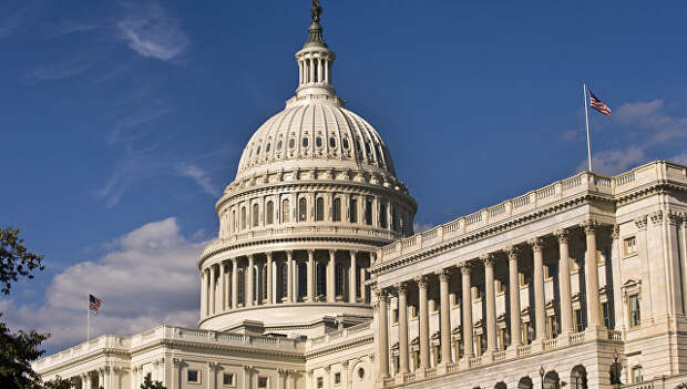 Здание американского Сената в Вашингтоне. Архивное фото