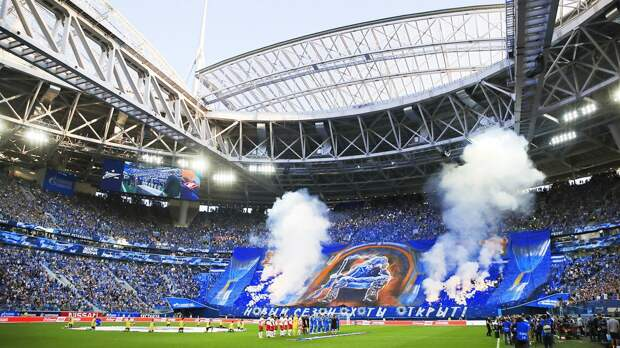 Стадион «Зенита» стал самой посещаемой ареной Европы по итогам сезона-2020/21