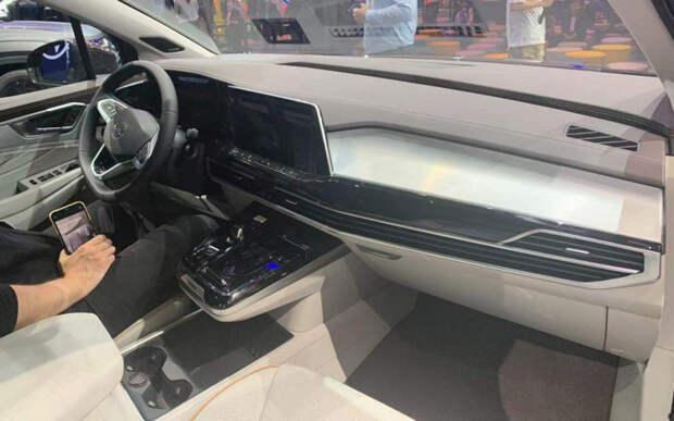 Volkswagen представил новый большой кроссовер Talagon