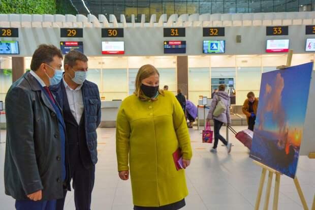 """В аэропорту """"Симферополь"""" открылась всероссийская фотовыставка ко Дню народного единства"""