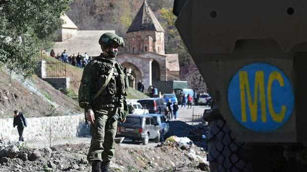 Первые итоги пребывания российских миротворцев в НКР