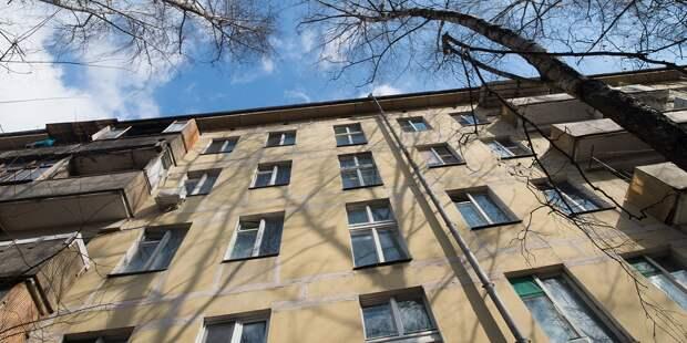 Бракованную адресную табличку дома на Ленинградке заменят в мае
