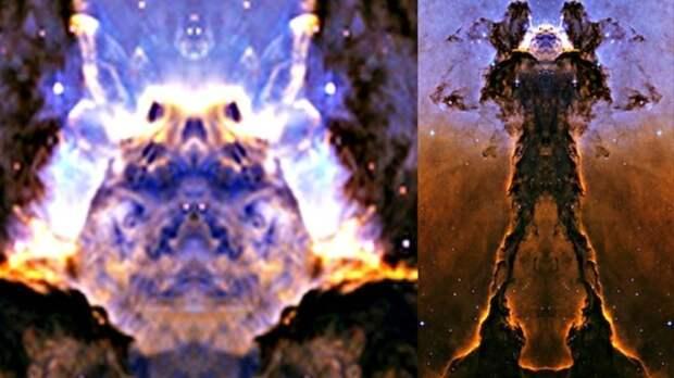 "На снимках НАСА обнаружен ""силуэт пришельца"""
