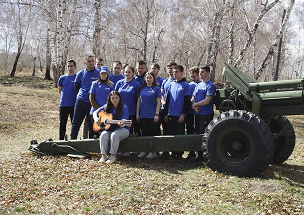В Филиале Военной академии МТО г. Омска состоялась военно- патриотическая акция среди студентов вузов