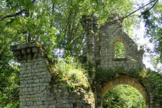 Парк Мажолан. Северные ворота