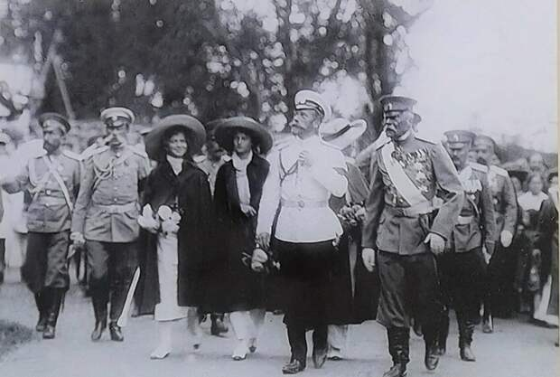 Император Николай II в Гагре