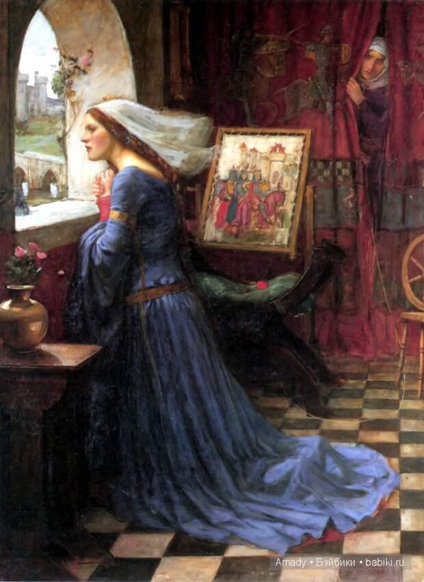 Женщины в картинах знаменитых зарубежных художников