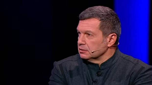 Соловьев напомнил Зеленскому, что между Россией и Украиной нет войны