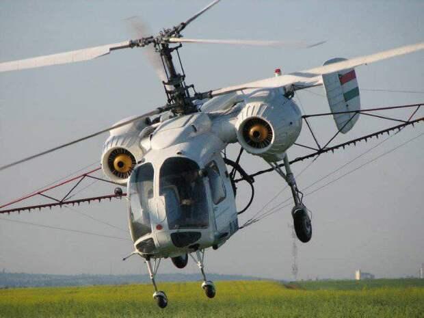 Ка-26: идеальный вертолет для крестьянина