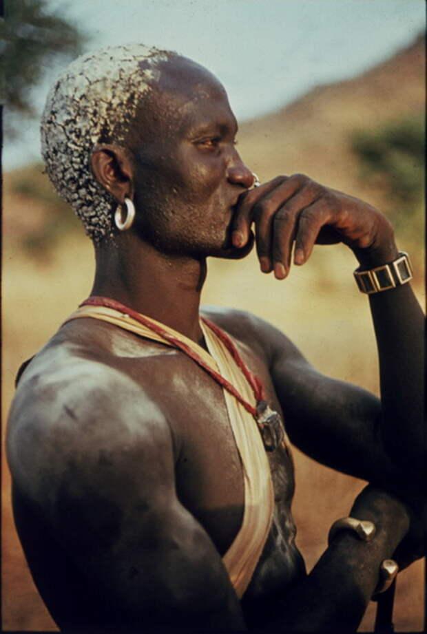 Мужчина племени нуба