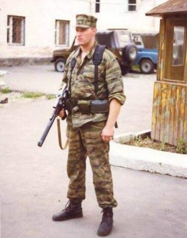 Капитан ФСБ ЩЕКОЧИХИН Николай Николаевич