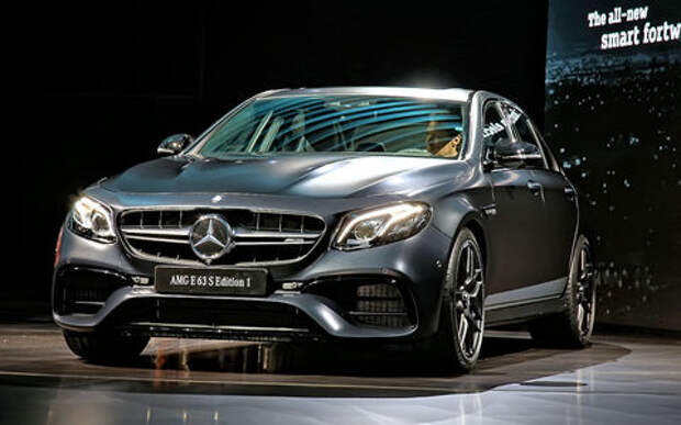 Грозовой фронт: Mercedes-AMG E63 – один из мощнейших дебютантов Лос-Анджелеса