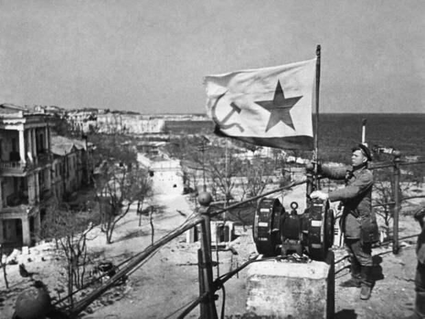 Севастополь освобожден от фашистских захватчиков