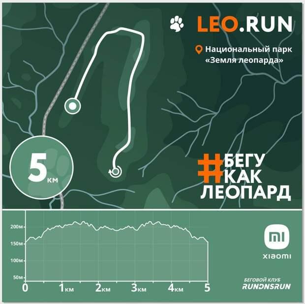 """Беги, как леопард: уникальный марафон пройдет на территории нацпарка """"Земля леопарда"""""""