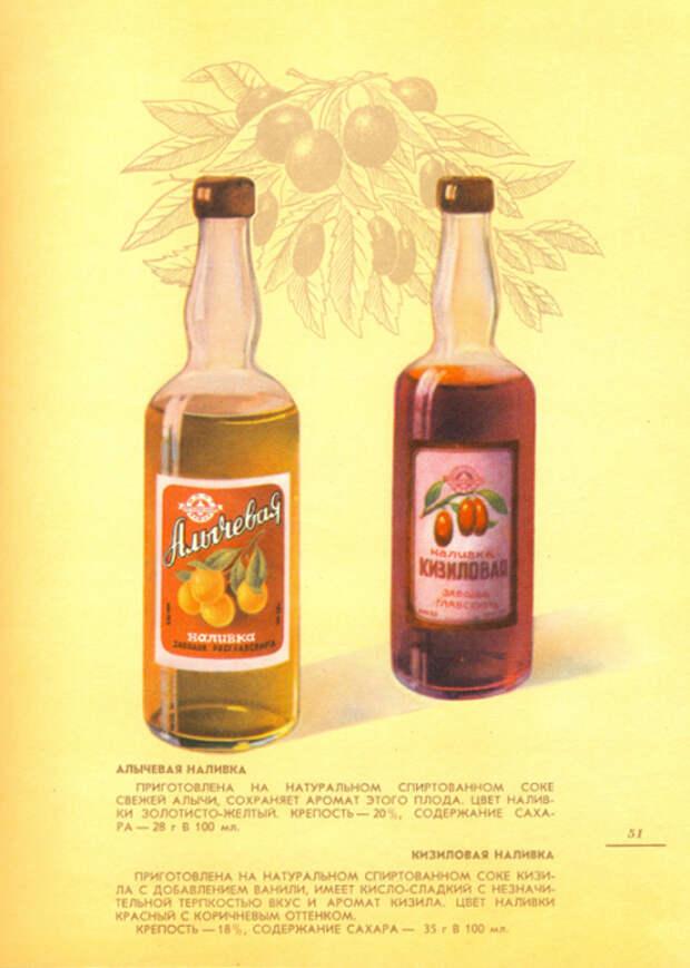 Приготовлены на натуральных спиртовых соках.