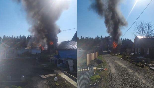 Дачный кооператив едва не сгорел целиком в Карелии