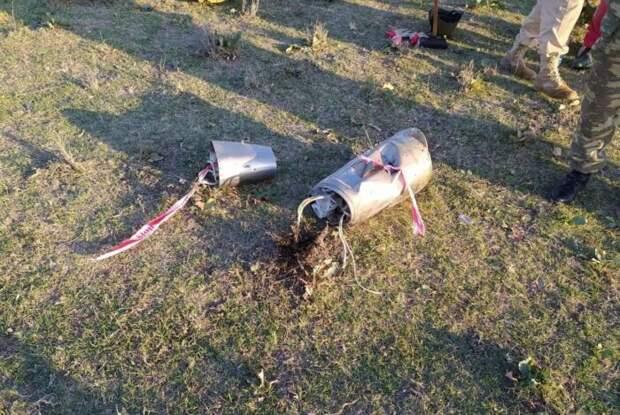 Обломки ракет «Искандер-М», которые сбила ПВО Азербайджана, неожиданно исчезли